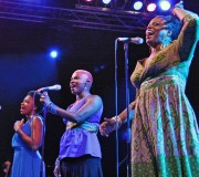 Lizz Wright, Angelique Kidjo and Dianne Reeves