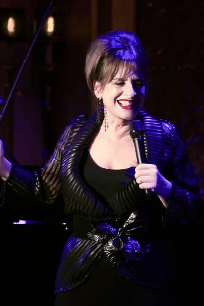 Patti Lupone performing Woulda , Coulda, Shoulda at 54 Below on July 22, 2013.  Photo credit ; Rahav iggy Segev / Photopass.com